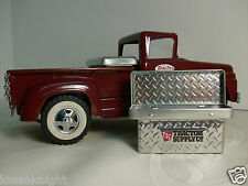 Diamond Plate Truck Bed Tool Box for 1:16 Scale Pressed Steel Toy Vintage Trucks