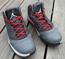 release date: ab56c ef159 NIKE AIR JORDAN B Mo HIGH TOP GRAY AND RED SNEAKERS STYLE 580590-002