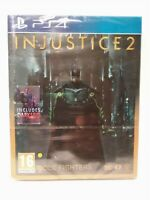 INJUSTICE 2 ULTIMATE Edition Steelbook - Jeu PS4 - PAL UK Neuf / New & selead