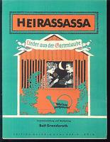 """Rolf Granderath """" Heirassassa - Lieder aus der Gartenlaube """""""
