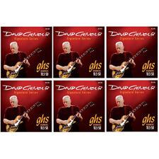 GHS GB-DGG David Gilmour Signature Series Red Electric Guitar Strings 6 PACK