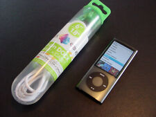 ~~NEW~~ Apple iPod nano 5th Gen Black 8 GB with NEW Battery & New Cable BUNDLED