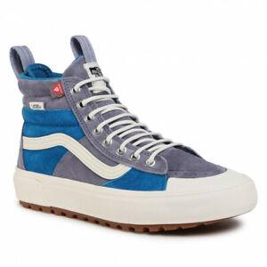 VANS Sk8-Hi Mte 2.0 Dx Trainers VN0A4P3I2UQ1 (Mte) Blue Sneakers Hi Top UK 5.5