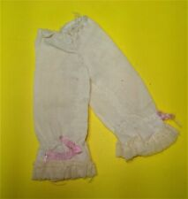 Vtg Barbie Clone 70s Doll Clothes Linen Bloomers Pantaloons No Label