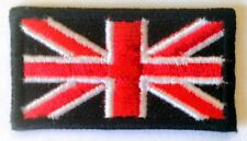 Iron On/ Sew On Embroidered Patch Badge Flag Union Jack Mini UK National Flag
