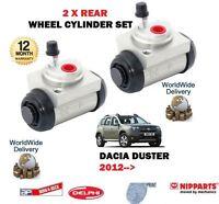 Per Dacia Duster 1.2 1.6 1.5 DCI 2012- > Nuovo 2x Post. SX + Dx Cilindri Ruote