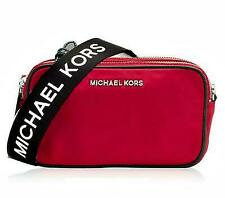 Michael Kors Camera Bag Sport Connie Double Zip Nylon Bag 35S9SI7M5C Chili Red