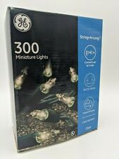 GE 300 String Lights - Christmas Party Wedding - Clear 62.2' - Indoor/Outdoor