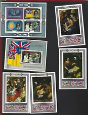 Niue sc#453a,454,462-5 (1984-5) Souvenir Sheets MNH