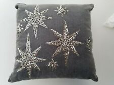 Pottery Barn Teen Emily & Meritt The North Star Velvet Sequin Pillow #4398