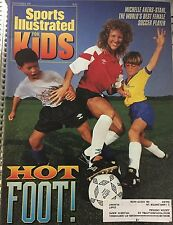 September 1992 Michelle Akers-Stahl Soccer Sports Illustrated For Kids