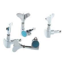 Chrome Sealed Bass Tuning Pegs Tuners Machine Heads 2L + 2R DT