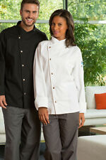 Uncommon Threads Unisex Chef Coat Jacket Caliente color White 0492 size Small