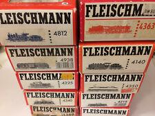 Fleischmann Konvolut 10 leere Originalverpackungen