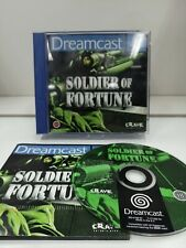Soldier of Fortune - SEGA Dreamcast Game PAL