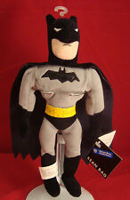 Warner Bros Studio Store-Batman- Inches Bean Plush-Cape-The Batman-New/Tags-1999