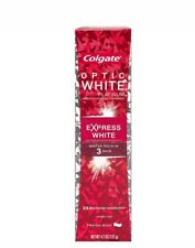 Colgate Optic Platinum Toothpaste, Express White, 4.5 Ounce