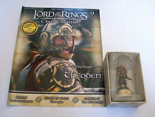 LORD OF THE RINGS Chess Collection Set.1 #09 White Knight THEODEN