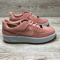 W NIKE AIR FORCE 1 SAGE LOW CORAL size UK 7.5 US 10 EUR 42 AR5409 002 AF1