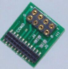 LaisDcc 8 / 21 Pin Adaptor NEM652 Chip to 21MTC. No.860004 DCC (Suits TTS chips)