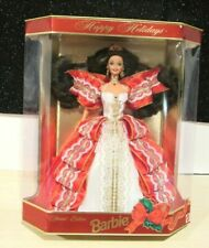 Mattel 17832 1997 Happy Holidays Special Edition  Barbie BRUNETTE NEW IN BOX