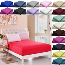 200 250 500 800 THREAD COUNT 100% EGYPTIAN COTTON FITTED / FLAT / VALANCE SHEETS