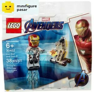 Lego Marvel Avengers Endgame 30452 -  Iron Man and Dum-E polybag - New & SEALED