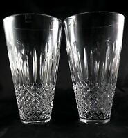 Stunning Pair vintage Large Art Glass Vases - Scottish Gleneagles Lead Crystal