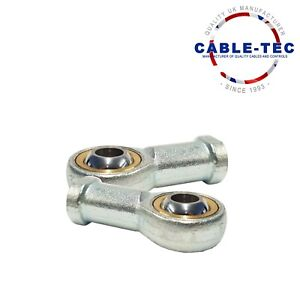 2 X M6 ROSE JOINT ASSY   Cable Tec