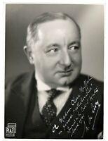 French Film Actor Henri de Livry antique signed photograph