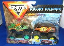 Monster Jam Double Color Change Dragon VS Thunder Bus 1 64 Trucks