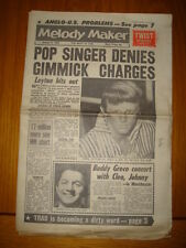 MELODY MAKER 1962 JAN 6 JAZZ JOHN LEYTON BUDDY GRECO