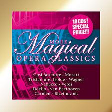 CD More Magical Clásicos De La Ópera 10CDs con Cosi Ventilador Tutti,Tristan y