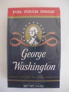 George Washington Pipe Tobacco Collectible Box