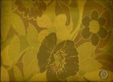 Crypton® Concertex Zenus Villandry Modern  Floral Green Mocha Upholstery Fabric