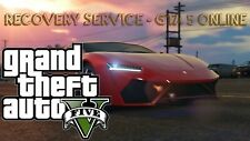 GTA 5 ONLINE MOD / RECOVERY SERVICE / MONEY + LEVELS / SAFE +
