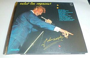 CD JOHNNY HALLYDAY  SALUT LES COPAINS / DIGIPACK CD  MINI POSTER 16 TITRES RARE