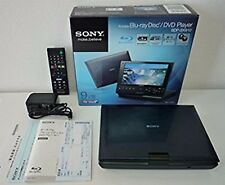 Sony BDP-SX910 Wide Screen Portable Blu-ray Disc DVD Player Used F/S from Japan