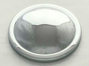 Morris Minor Series MM Stainless Steel Plain Hub Cap.