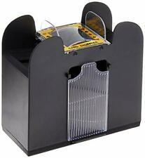 New ListingPlaying Card Shuffler Automatic Battery Operated 6 Deck Casino Dealer Travel .
