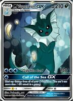 Mega Vaporeon GX (Holo) - Custom Pokemon Card