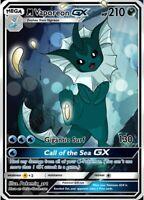 Mega Vaporeon GX (Holo) - Custom Pokemon Card