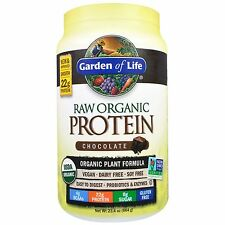 Garden of Life, Raw Organic Protein, Organic Plant Formula, Chocolate, 23.4 oz (
