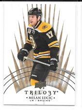 2014-15 UD Trilogy # 9 Milan Lucic Boston Bruins