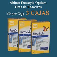 Freestyle optium 3 x caja x 50 Tiras de reactivas Gran Rebajas