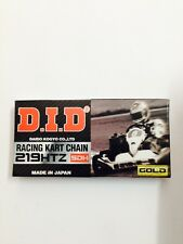 Go Kart - Chain D.I.D HTZ SDH Gold/Gold 98 Link- NEW