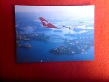 QANTAS  BOEING 747-438 VH-OJH  POSTCARD AUSTRALEX AUS 513