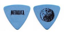 Metallica Jason Newsted Yin Yang Blue Bass Guitar Pick - 1998 Tour