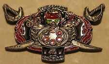 2nd Battalion Bravo Co 160th SOAR Night Stalkers Army Airborne Challenge Coin