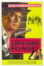 High Noon Gary Cooper Grace Kelly cult movie poster print 3